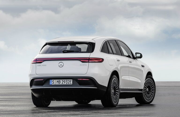 rear of the 2020 Mercedes-Benz EQC