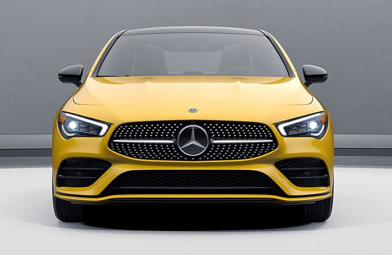 2017 Mercedes-Benz CLA grille view