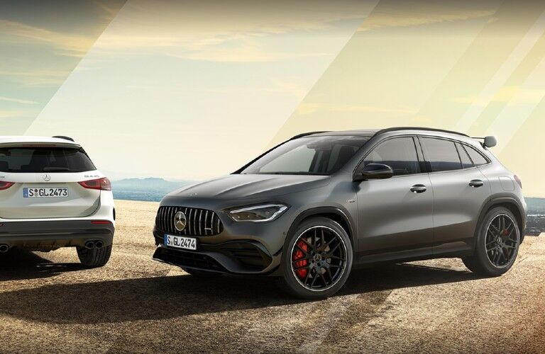 2020 Mercedes-AMG GLA on pavement
