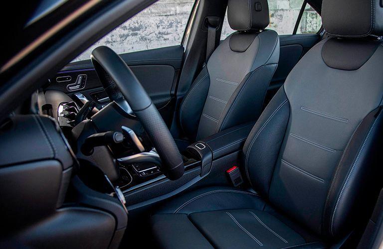 2021 Mercedes-Benz A-Class front seats