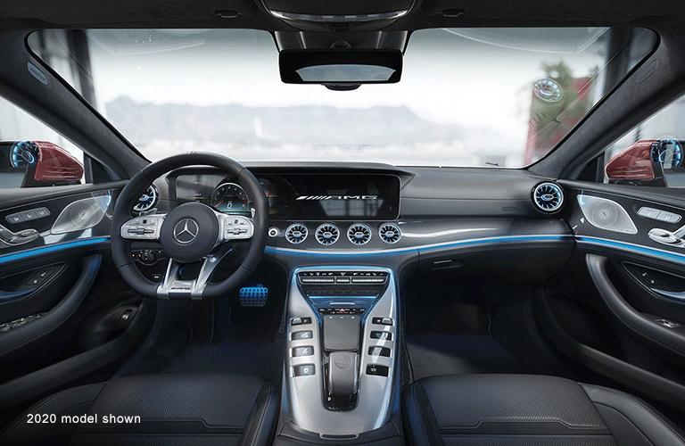 2020 Mercedes-AMG® GT 63 dashboard