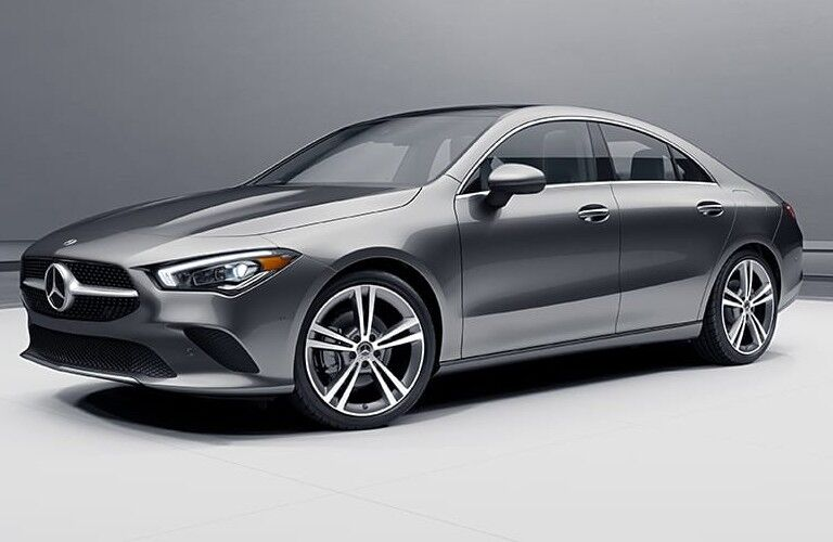 2021 Mercedes-Benz CLA Coupe exterior styling