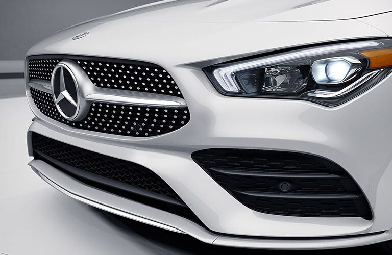 2021 Mercedes-Benz CLA Coupe grille