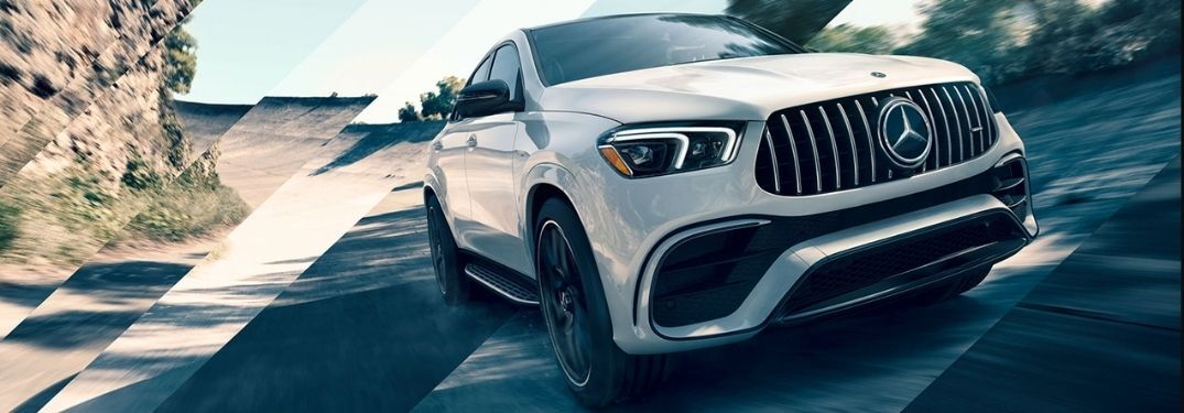 2021 Mercedes-Benz GLE Coupe on road