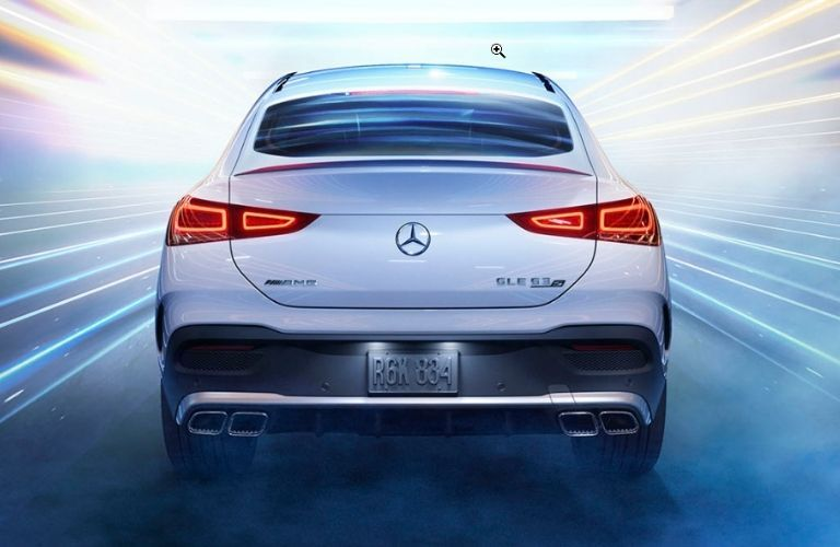 2021 Mercedes-Benz GLE Coupe rear profile