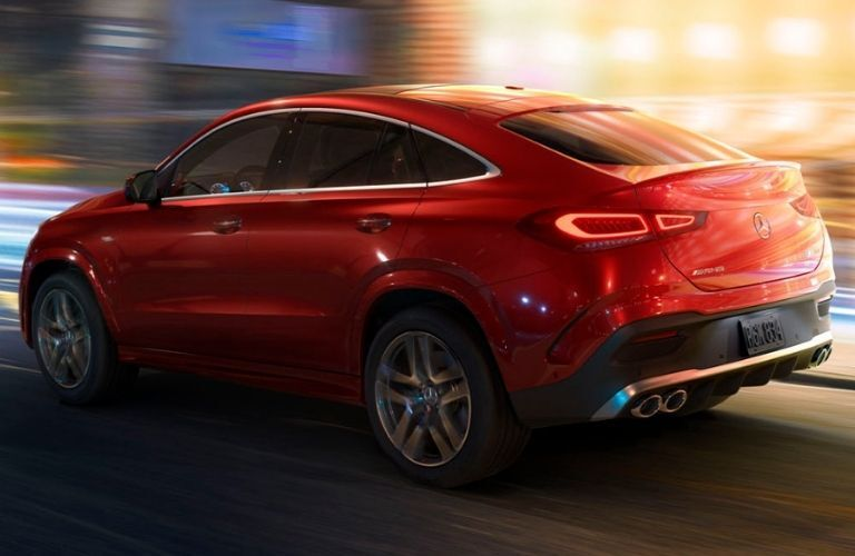 2021 Mercedes-Benz GLE Coupe side view