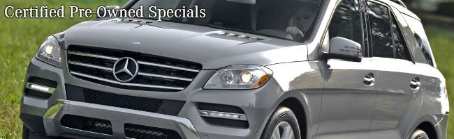 Mercedes-Benz CPO Specials Merriam Ks