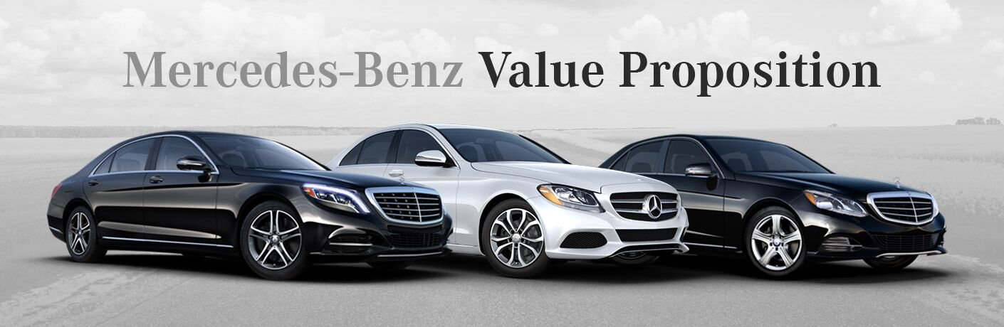 mercedes benz value proposition