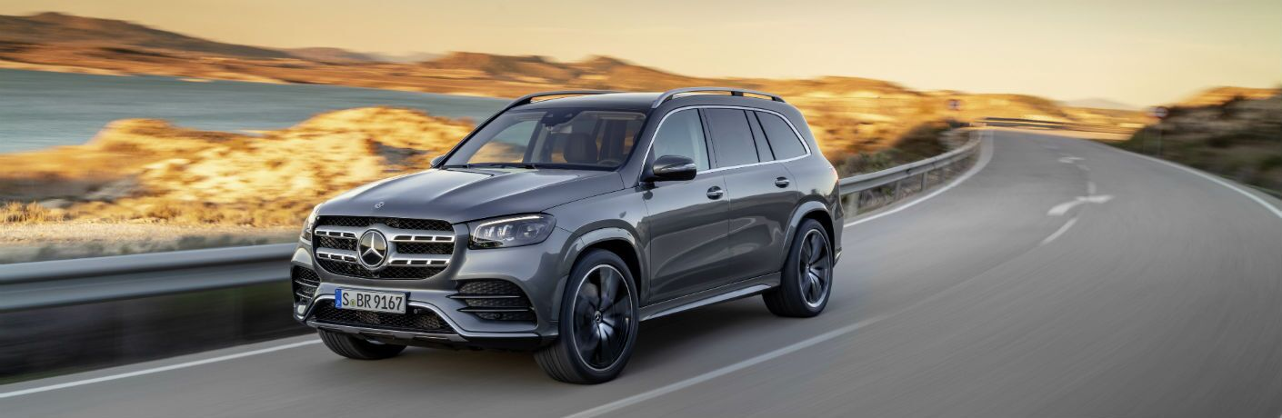 2020 Mercedes-Benz GLS driving on highway