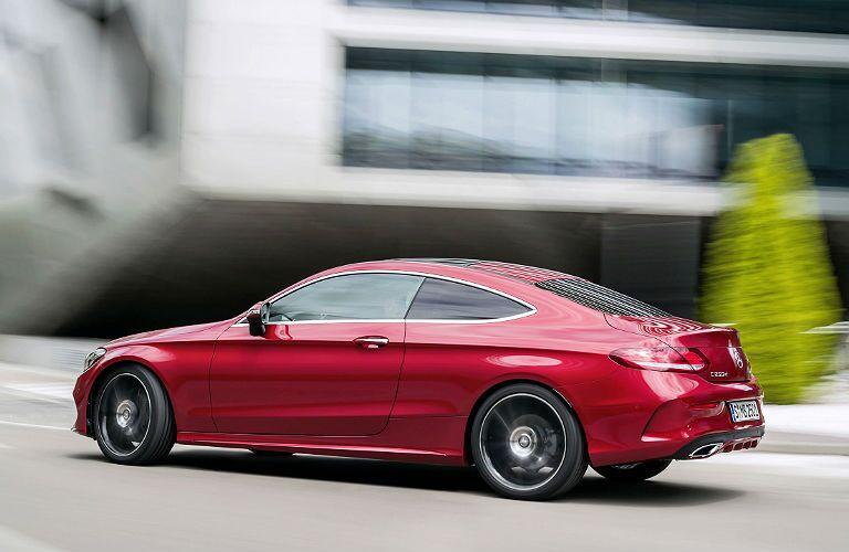 2017 Mercedes-Benz C-Class Coupe horsepower