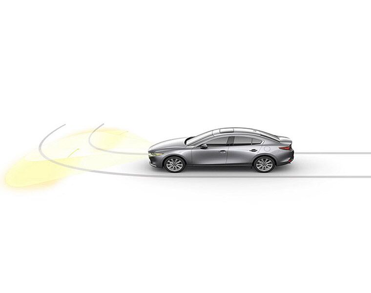 2019 Mazda3 safety features illustrated
