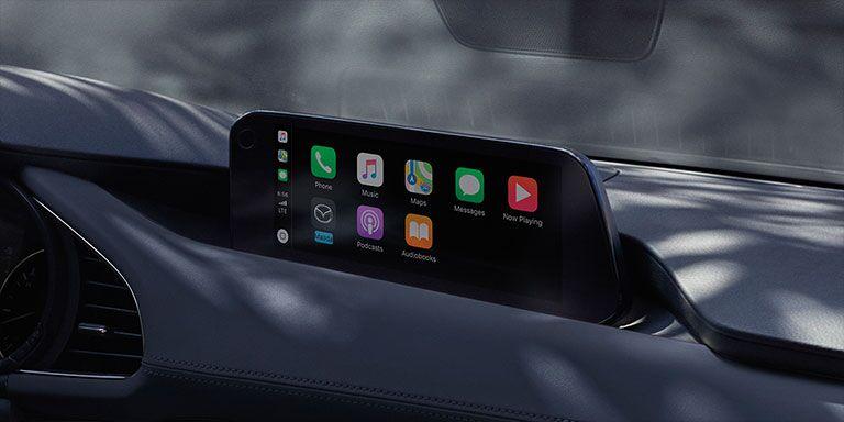 2019 Mazda3 touchscreen display