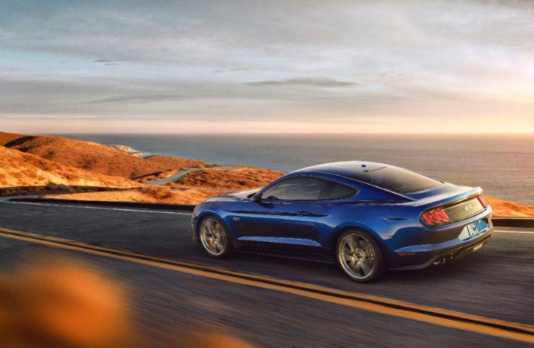 Blue 2018 Ford Mustang in Santa Rosa CA