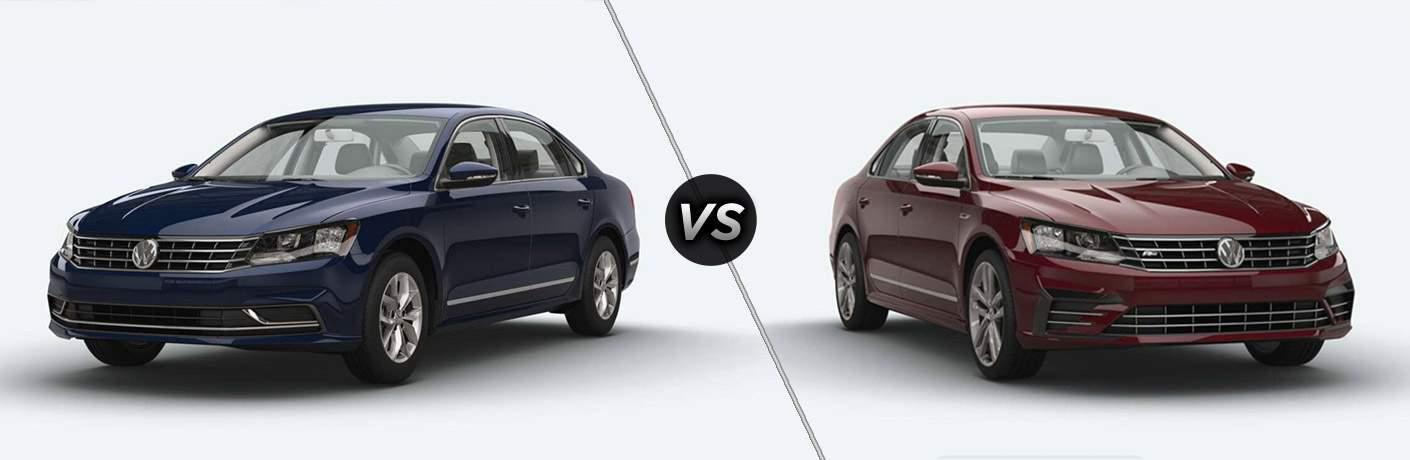 2017 VW Passat S vs Passat R