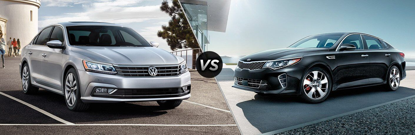 2017 VW Passat vs 2017 Kia Optima