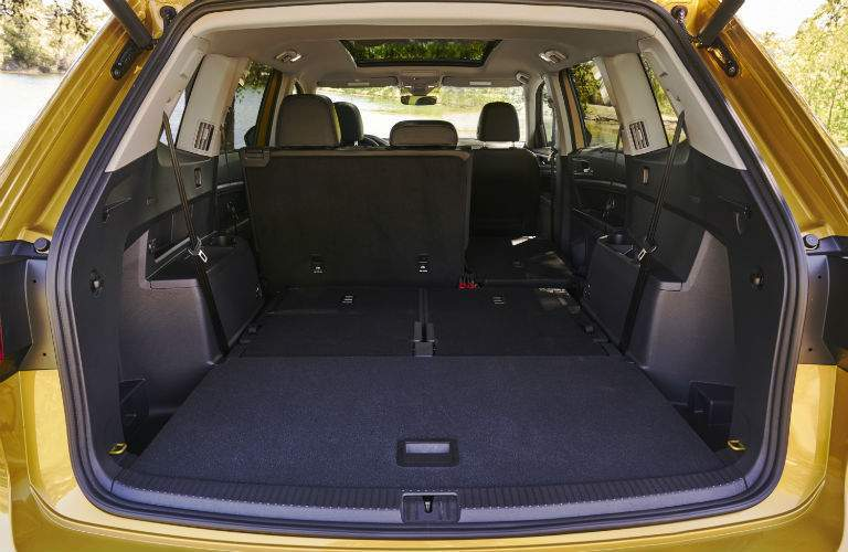An interior photo of one of the options drivers have to configure the interior of the 2018 Atlas