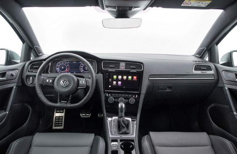 Dashboard of the 2018 Golf R shown. The Digital Cockpit Display is visible