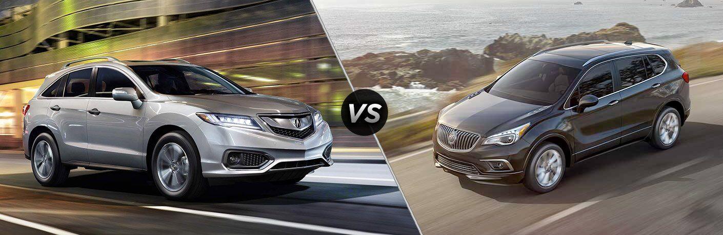 2017 Acura RDX vs 2017 Buick Envision