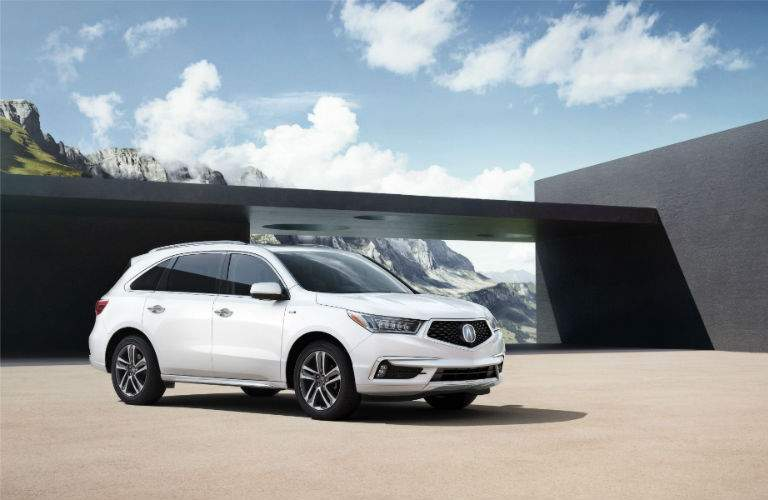 2017 Acura MDX offers modern crossover SUV styling