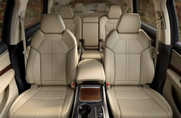 There is plenty of passenger space in the 2017 MDX