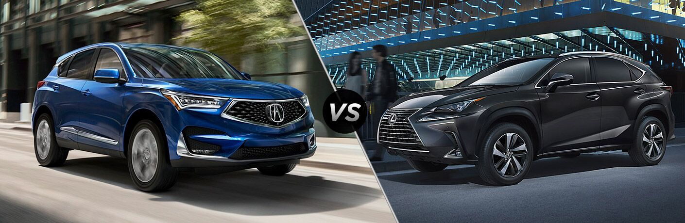 Another side-by-side comparison of the 2019 Acura RDX vs. 2019 Lexus NX 300.