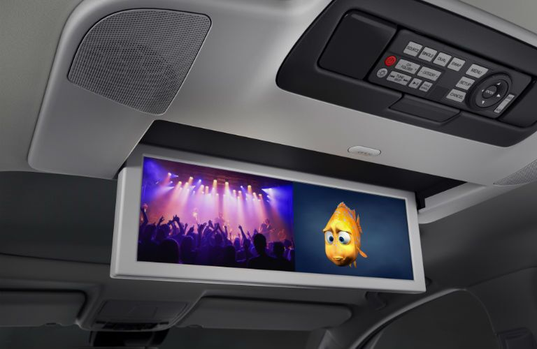 A photo of an available entertainment system in the 2018 Acura MDX.