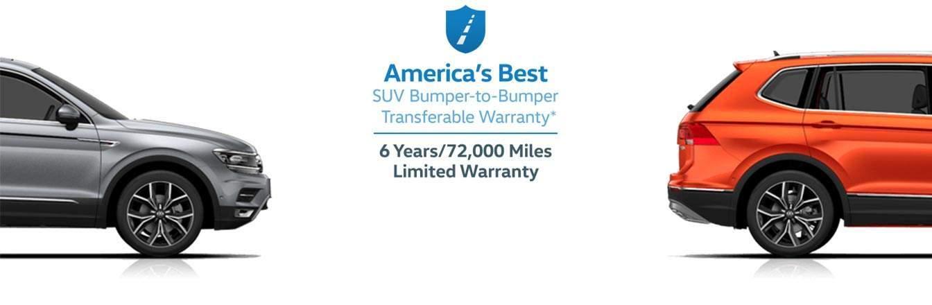 2018 volkswagen warranty. beautiful warranty americau0027s best suv bumpertobumper transferable warranty to 2018 volkswagen warranty