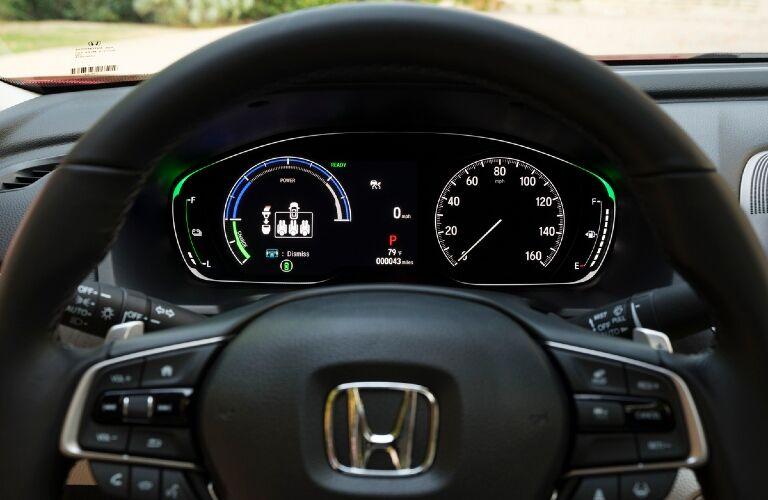 2021 Accord Hybrid digital gauges