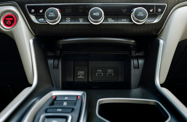 2021 Accord USB ports