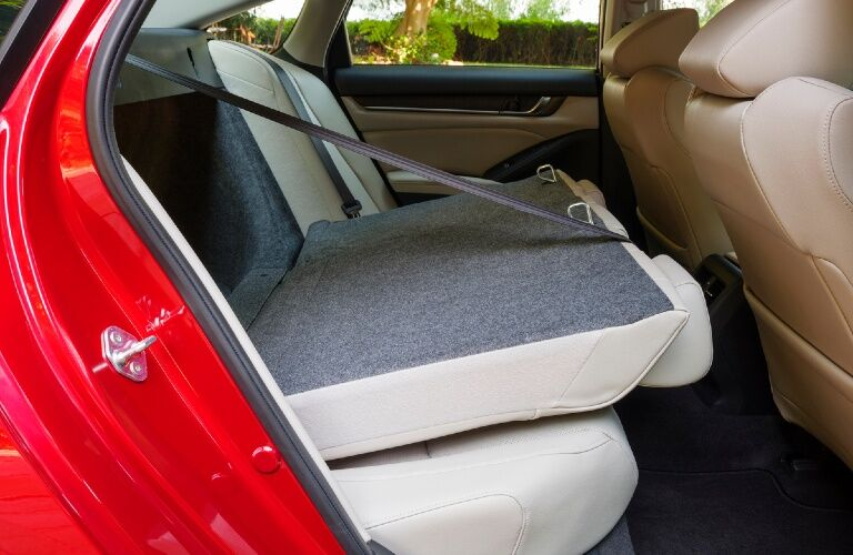 2021 Accord rear folding seat