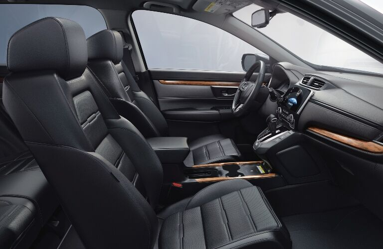 2021 CR-V cockpit showcase