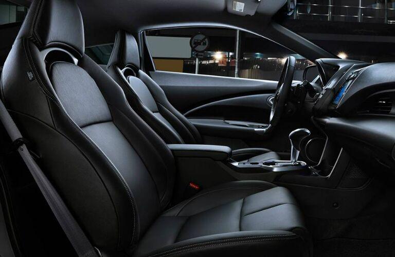 Seating in the 2016 Honda CR-Z