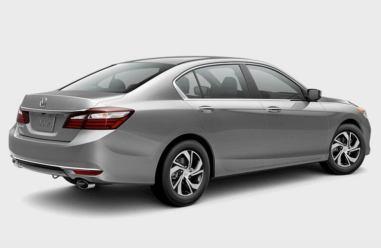 Back right side of 2017 Honda Accord LX