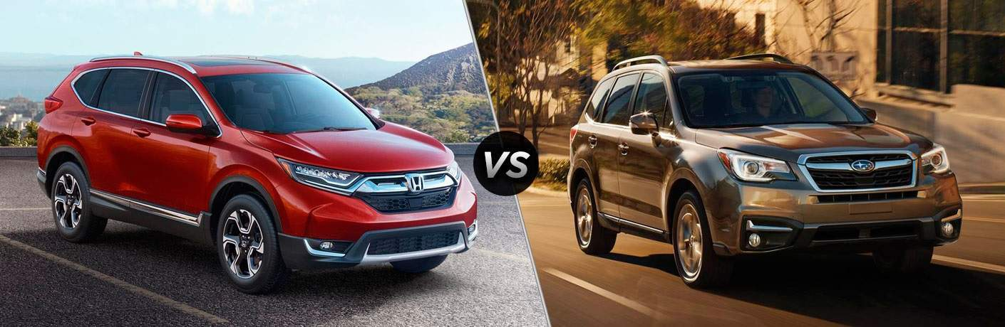 2017 Honda CR-V vs 2017 Subaru Forester