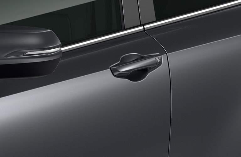 Door handle of the 2017 Honda CR-V
