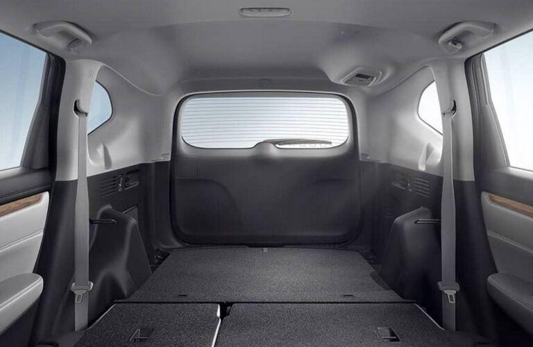 Cargo space in 2017 Honda CR-V