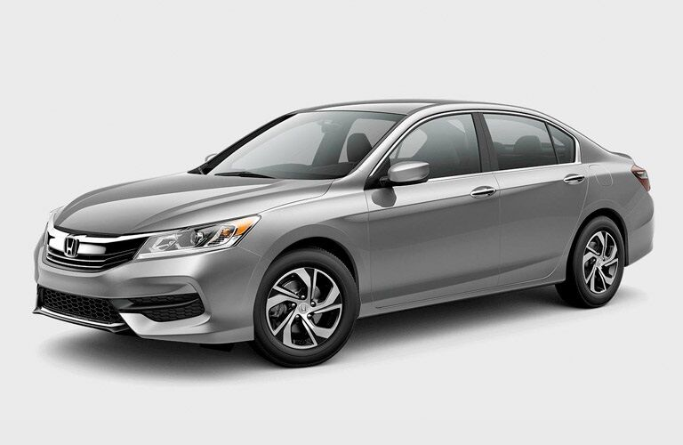 Silver 2017 Honda Accord