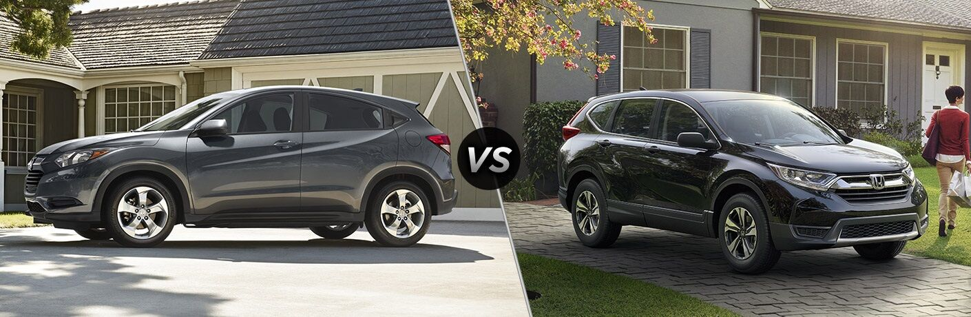 2017 Honda HR-V vs 2017 Honda CR-V