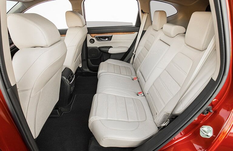 Rear seats of the 2017 Honda CR-V