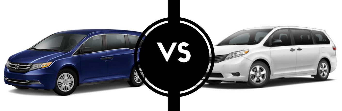 2017 Honda Odyssey vs 2017 Toyota Sienna