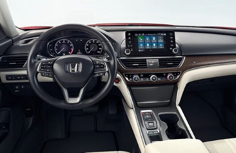 2020 Honda Accord Hybrid cockpit showcase