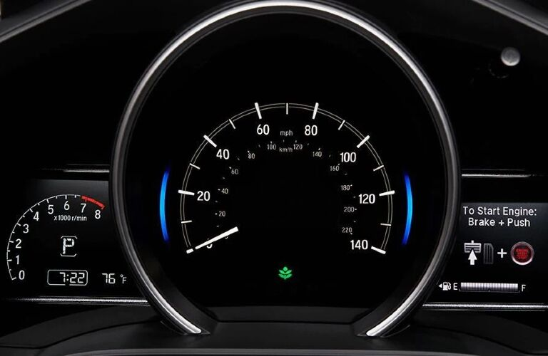2020 Honda Fit gauge cluster showcase