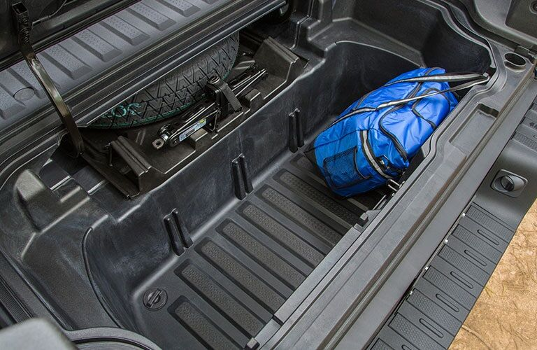 In-Bed Trunk of the 2018 Honda Ridgeline