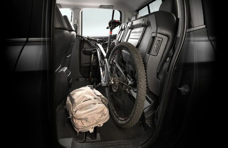 2020 Ridgeline rear fold-up seats