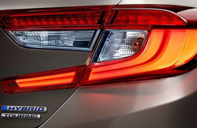Taillight on the 2019 Honda Accord Hybrid Touring