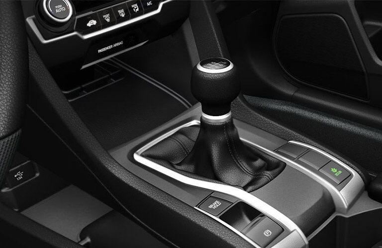 Shift knob in the 2019 Honda Civic