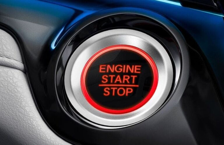 Engine start stop button in the 2019 Honda Odyssey