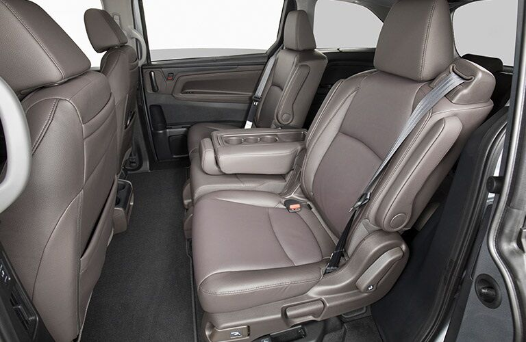 Rear seating in the 2019 Honda Odyssey