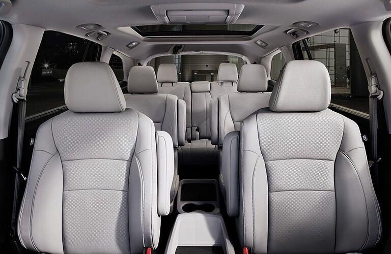 Interior seating in the 2019 Honda Pilot