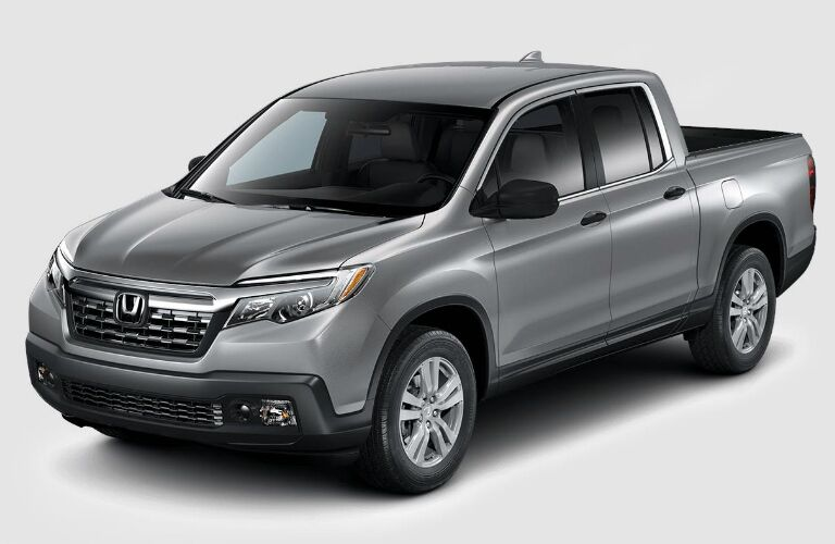 front view of a silver 2019 Honda Ridgeline